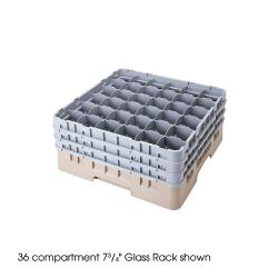 Cambro - 36S800 - Camrack 36 Section 8 1/2 in Glass Rack image
