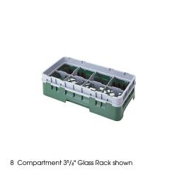 Cambro - 8HS638 - Camrack 8  Section 6 7/8 in Glass Rack image