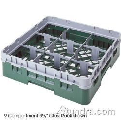 Cambro - 9S638151 - Camrack® 9 Section 6 7/8 in Glass Rack image