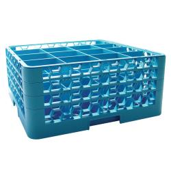 Carlisle - RG16-314 - 16 Compartment OptiClean™ Glass Rack and Extenders image