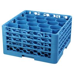 Carlisle - RW20-314 - 20 Compartment OptiClean™ NeWave™ Glass Rack with Extender image