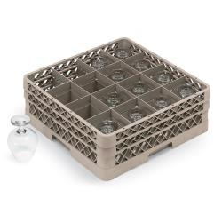Vollrath - TR8D - 16 Compartment Traex® Glass Rack image