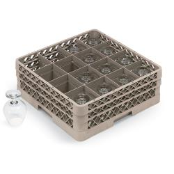 Vollrath - TR8DD - 16 Compartment Traex® Glass Rack image