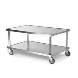 Vollrath - 4087924 - 24 in Heavy Duty Equipment Stand w/ Caster image