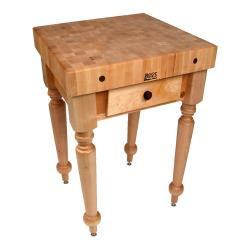 "John Boos - CUCR04 - 30"" Maple Rustica Table image"