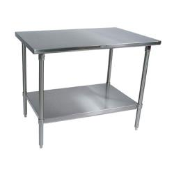 "John Boos - ST6-3048GSK - 30"" X 48"" Stainless Steel Work Table image"