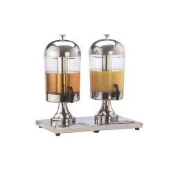 American Metalcraft - JUICE2 - 8 1/2 qt Double Juice Dispenser image