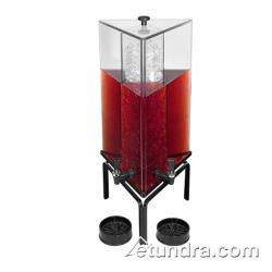 Cal-Mil - JC303 - 3 Gal Triangle Beverage Dispenser w/Strata Stand image