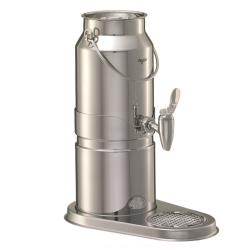 GET Enterprises - EMC030E - 3 1/5 qt FRILICH Elegance™ Stainless Steel Milk Dispenser Set image