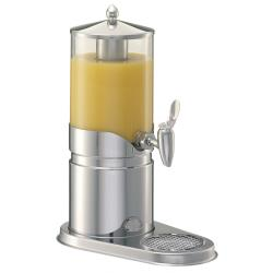 GET Enterprises - ESC025E - 2 3/5 qt FRILICH Elegance™ Stainless Steel Juice Dispenser image