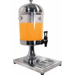 Winco - 902 - 7 1/2 Qt Stainless Steel Juice Dispenser image