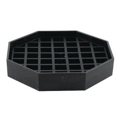 Winco - DT-45 - 4 1/2 in Octagonal Drip Tray image