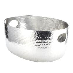 American Metalcraft - ATHS14 - 16 1/4 qt Hammered Aluminum Beverage Tub image