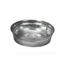 American Metalcraft - MTUB12 - 12 in x 3 in Galvanized Tub image