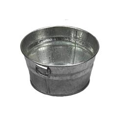 American Metalcraft - MTUB63 - 6 in x 3 in Galvanized Tub image