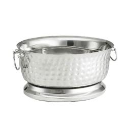 Tablecraft - BT1815 - 18 in Stainless Steel Beverage Tub image