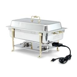 Vollrath - 46040 - Electric Chafer w/ Long Side Receptacle image