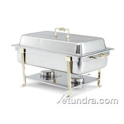Vollrath - 46050 - Classic Brass 9 Qt Rectangular Chafer image