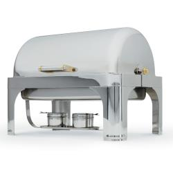 Vollrath - 46080 - New York, New York™ 9 Qt Rectangular Chafer w/ 90° Cover image