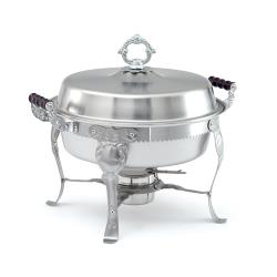 Vollrath - 46860 - Royal Crest™ 5.8 Qt Round Chafer image