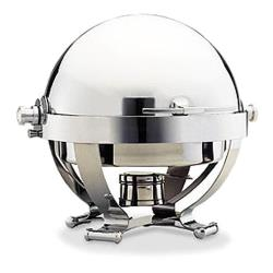 Walco - 54130CR - Satellite™ 6 Qt Roll Top Chafer w/ Chrome Accents image
