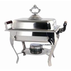 Winco - 508 - Crown 4 qt Chafing Dish image