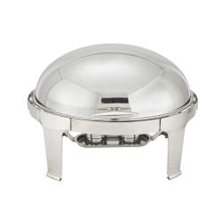 Winco - 603 - Madison 7 Qt Oval Chafer image