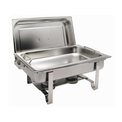 Winco - C-2080B - Get-A-Grip 8 Qt Oblong Chafer image