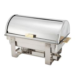 Winco - C-5080 - 8 Qt Dallas Roll Top Chafer image