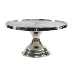 Winco - CKS-13 - 13 in x 6 3/4 in Cake Stand image