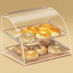 Cal-Mil - 289 - Euro 2-Tier Display Case image
