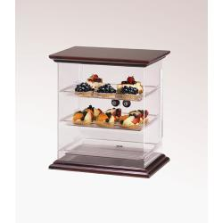 Cal-Mil - 814-52 - Euro 3-Tier Wood Display Case image