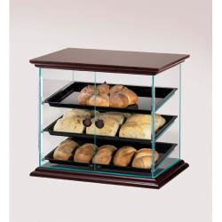 Cal-Mil - 815-52 - Euro 3-Tier Wood Display Case image