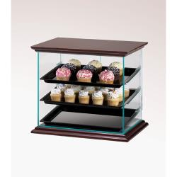 Cal-Mil - 815-52A - Euro 3-Tier Wood Display Case image