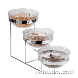 World Cuisine - 41442-03 - 3-Tier Chrome Plated Bowl Stand image