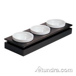 World Cuisine - 42460-10 - Large 3-Bowl Wenge Wood Display Set image