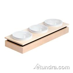 World Cuisine - 42470-10 - Large 3-Bowl Maple Display Set image