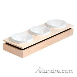 World Cuisine - 42470-12 - Small 3-Bowl Maple Display Set image