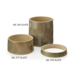 GET Enterprises - ML-285-SLATE - Stone-Mel 6 in Tall Pedestal image