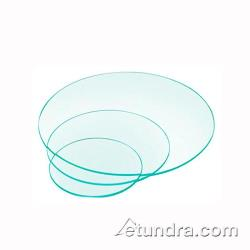Cal-Mil - 1443-16 - 16 in Round Glass Riser Shelf image