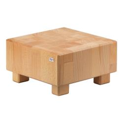 GET Enterprises - 3ST084 - 8 7/10 in FRILICH Pure Natural™ Square Butcher Block Display Riser image