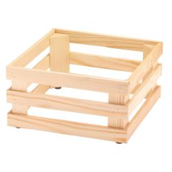 GET Enterprises - 5ST050 - 13 in x 13 in FRILICH Riser™ Untreated Wooden Base image