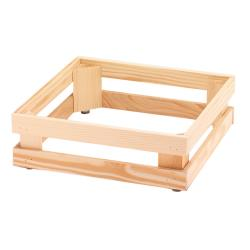 GET Enterprises - 5ST052 - 13 in x 13 in FRILICH Riser™ Untreated Wooden Base image