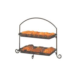 American Metalcraft - IS12 - Ironworks 23 1/2 in 3-Tier Stand image