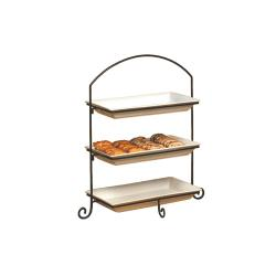 American Metalcraft - IS13 - Ironworks 32 3/8 in 3-Tier Stand image