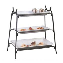 American Metalcraft - IS14 - Ironworks 25 1/2 in 3-Tier Stand image