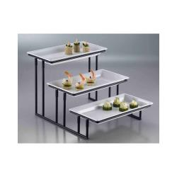 American Metalcraft - IS18 - Ironworks 12 in 3-Tier Stand image