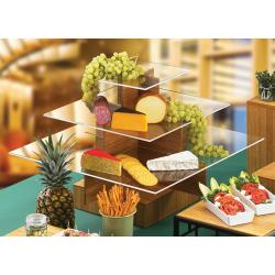 Cal-Mil - 1284-60 - 3-Tier 14 1/2 in Bamboo Display Stand image
