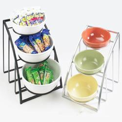 Cal-Mil - 1712-10-13 - 3-Tier Black 10 in Bowl Display image