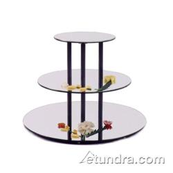 Cal-Mil - MT300 - 3-Level Large Round Tier w/Reversible Acrylic Mirror Trays image